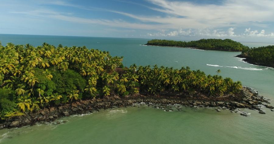 Moniteur guide de peche Guyane Peche sportive aux iles du salut